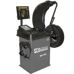 Balanceadora Motorizada de Rodas MR7079 com Monitor LCD para Aros 10 a 24 Pol. 220V Mono