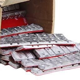 Contrapeso Modelo 06 60gr 5/10gr Liner com 50 Peças