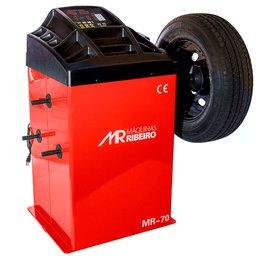 Balanceadora Motorizada Vermelho Mono 10 a 24 Pol.
