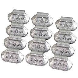 Contrapeso de 10 Gramas Universal para Rodas de Aço com 100 Peças