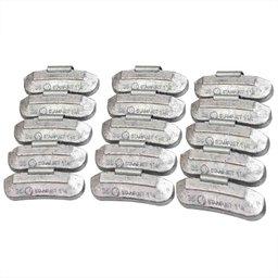 Contrapeso 35 Gramas Universal para Rodas de Aço com 100 Peças