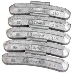 Contrapeso de 60 Gramas Universal para Rodas de Aço com 25 Peças