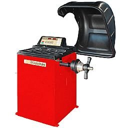 Balanceadora de Coluna Motorizada Monofásico Vermelha 220V