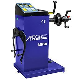 Balanceadora Manual de Rodas  Azul de 10 a 24Pol.  220V