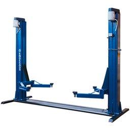 Elevador Automotivo Azul 4,1T 2 x 4CV Trifásico 220V Lubrificação a Graxa EC-4100