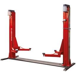 Elevador Automotivo EC-4100 Vermelho 4,1T 2 x 4CV Trifásico 220V Lubrificação a Graxa