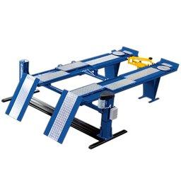 Rampa Elétrica Azul de Alinhamento e Geometria de Rodas 4000kg 4CV 220/380V Trifásico