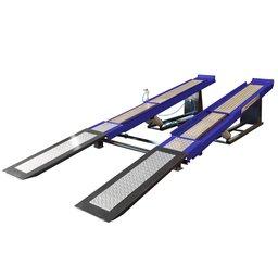 Rampa para Alinhamento Pneumática 4 Toneladas Azul