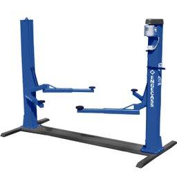 Elevador Azul 2,6 Toneladas Monofásico Lubrificação Automática a Óleo