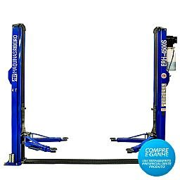 Elevador Hidráulico Automotivo Azul 4500Kg 220V Monofásico com Destravamento Manual