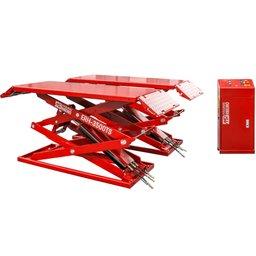 Elevador Pantográfico Hidráulico Vermelho Tipo Tesoura 3500kg 220V