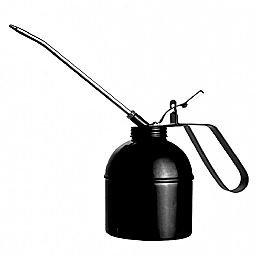 Bomba Almotolia Manual para Óleo 200ml com Bico Rígido