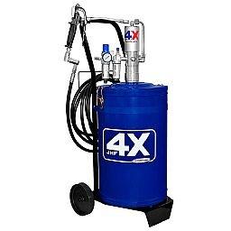 Propulsora Pneumática JHF 4X para Graxa de 30Kg