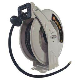 Carretel Automático para Graxa e Ar Comprimido 1/4 Pol.  Mangueira 15 Metros