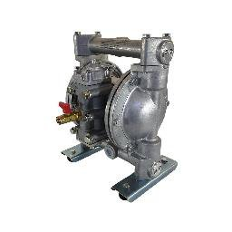 Bomba de Duplo Diafragma para Óleo Lubrificante Diesel Querosene e Água 3/4 Pol 110 L/min. em Alumínio