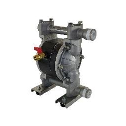 Bomba de Duplo Diafragma para Óleo Lubrificante Diesel Querosene e Água 1/2 Pol. 50 L/min. em Alumínio