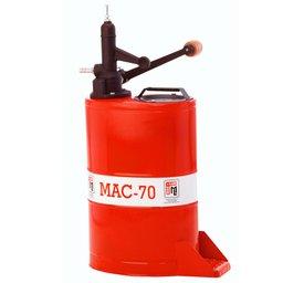 Bomba Manual Rotativa MAC-70 para Óleo de Cambio e Diferencial 18 Litros