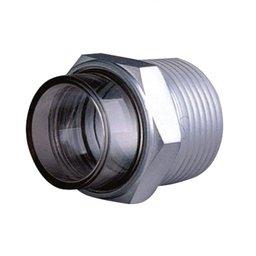 Visor de Nível 3D em Aço Trico MIX-34201 com Lente Termoplástico 3/4 Pol. NPT