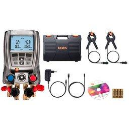 Manifold Digital 570-2 para Medição de Pressão em Sistema de Refrigeração com 2 Sondas