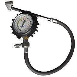 Calibrador de Pressão 10 a 170PSI tipo Relógio Pneu Press
