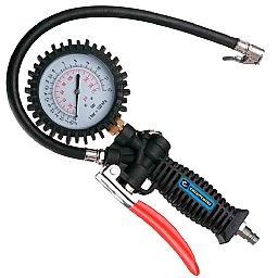 Calibrador de Pneus e Medidor de Pressão 0 a 170PSI