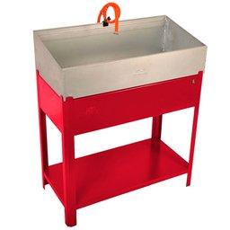 Lavadora de Peças 20 Litros 220V Vermelho - LV-820