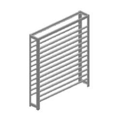Estante Porta-Componentes sem Gavetas para 108 Caixas Nr. 3