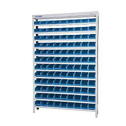 Estante Porta-Componentes com 108 Caixas Número 3 Cor Azul