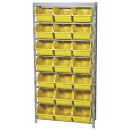 Estante Porta Componentes 21 Caixas Nr. 7 Cor Amarela