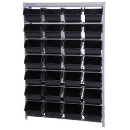 Estante Porta Componentes com 28 Caixas Azul Nr. 7
