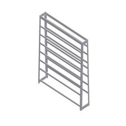 Estante Porta-Componentes sem Gavetas para 49 Caixas