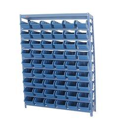 Estante Compacta com 54 Caixas Nr. 5 Azul