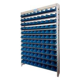 Estante Gaveteiro Organizador com 108 Gavetas Nr. 3 Azul