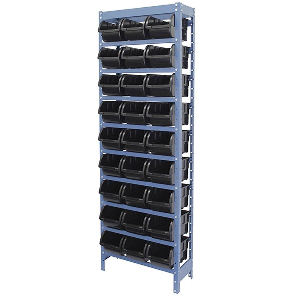 Estante Porta Componentes com 27 Caixas Preta Nr. 5