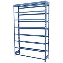 Estante Porta Componentes Azul sem Gavetas para 28 Caixas Nr. 7