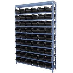 Estante Porta Componentes com 54 Caixas Preta Nr. 5