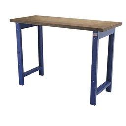 Bancada azul com pernas reguláveis 750 - 1100 mm