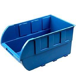 Gaveta Plástica Azul para Componentes N°7
