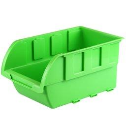 Gaveta Plástica para Componentes Verde n°5