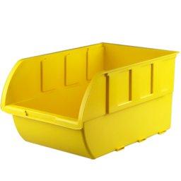 Gaveta Plástica para Componentes Amarela n° 7