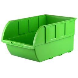 Gaveta Plástica para Componentes Verde n°7