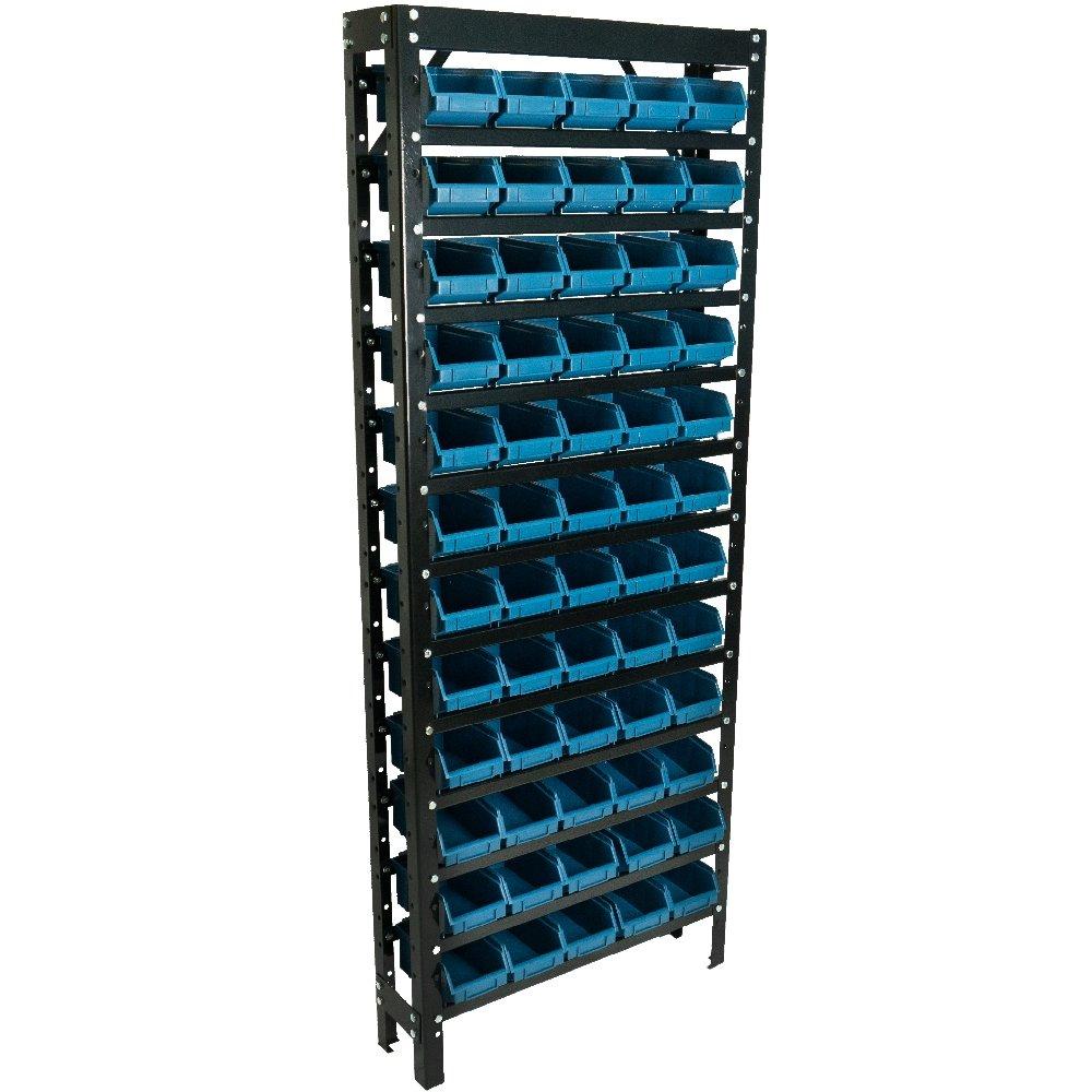 Estante Gaveteiros com 60 Caixas Azul N° 03