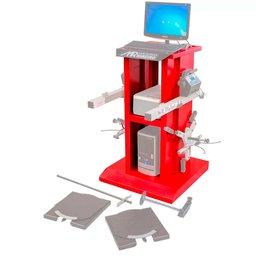 Rack Vermelho para Alinhador Direção Digital à Laser