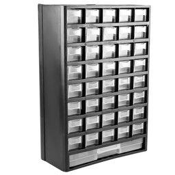 Organizador Multiuso Plástico 12 Pol. com 41 Gavetas