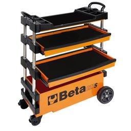 Carro de Ferramentas Tipo Trolley Rebatível para Trabalhos ao Ar Livre C27S