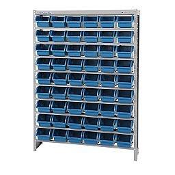 Estante Porta-Componentes com Caixas Azuis N°3