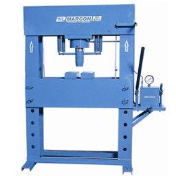 Prensa hidráulica com capacidade de 100 toneladas