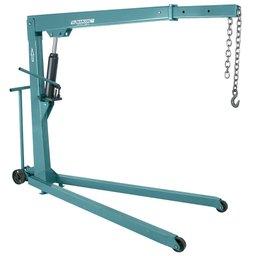 Guincho Hidráulico de 2 tonelada com prolongador e roda de ferro
