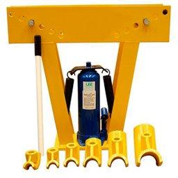 Dobrador e Curvador de Tubos hidráulico 1/2 a 2 pol de 12 toneladas