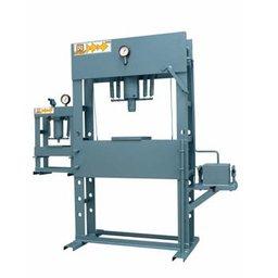 Prensa Hidraulica 100ton c/ auxiliar 15ton